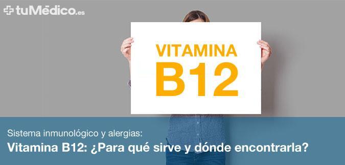 Vitamina B12: ¿Para qué sirve y dónde encontrarla?
