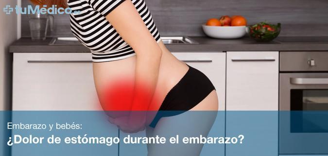 dolores en el vientre durante el segundo mes de embarazo