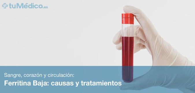 ferritina alta en sangre